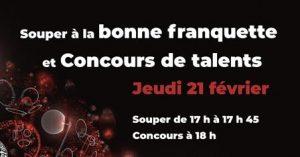 Souper à la bonne franquette et concours de talents @ École Émilie-Tremblay